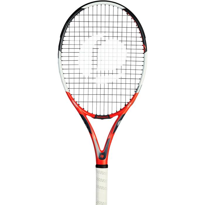 Set de raquette de tennis TR 530 lite Rouge avec sa housse pour les accessoires - 1197432