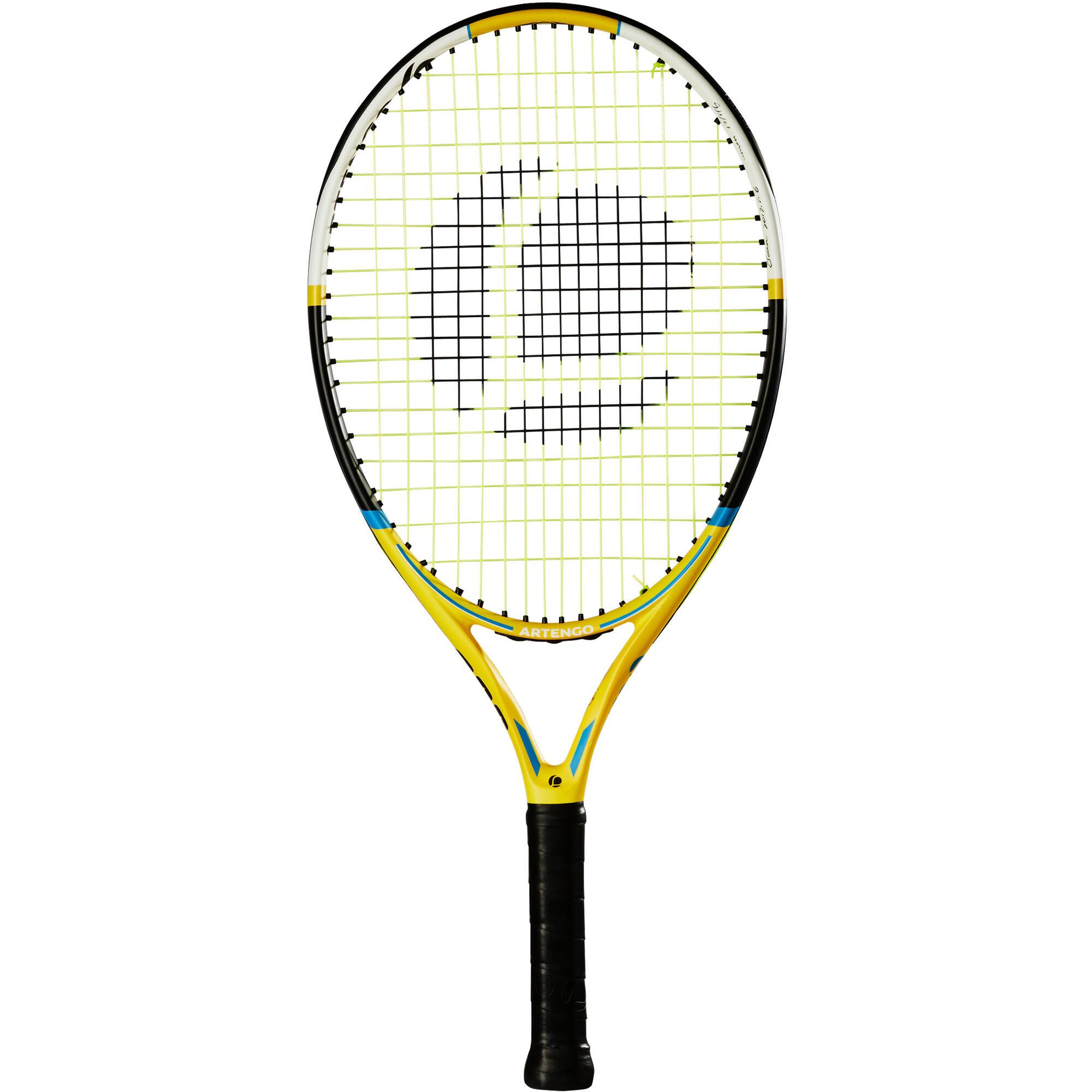 Raquette de tennis enfant tr530 23 jaune artengo - Raquette de tennis de table decathlon ...