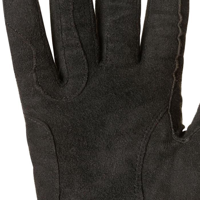 Warme rijhandschoenen Perf voor volwassenen zwart