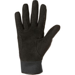 Perf Adult Horseback Riding Warm Gloves - Black