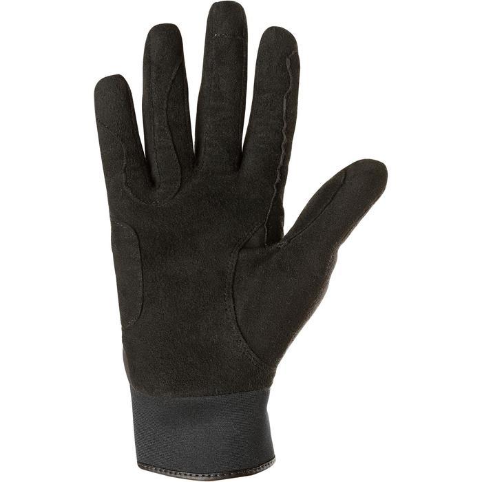 Warme rijhandschoenen voor volwassenen Perf zwart