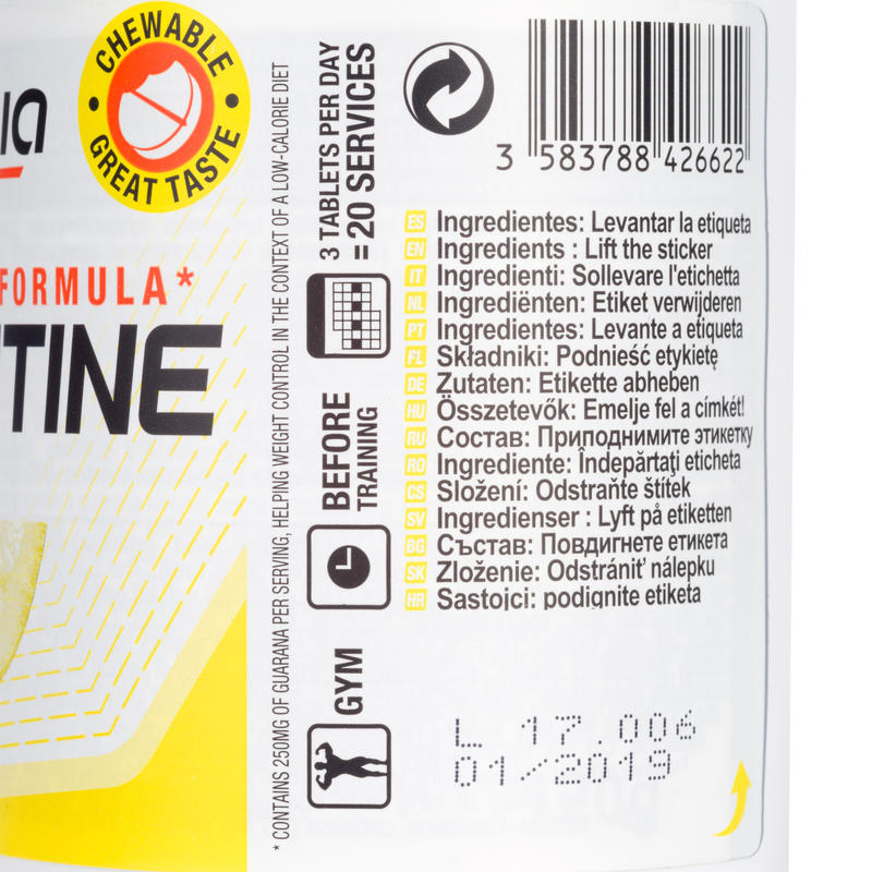 L-Carnitine x 60 Lemon