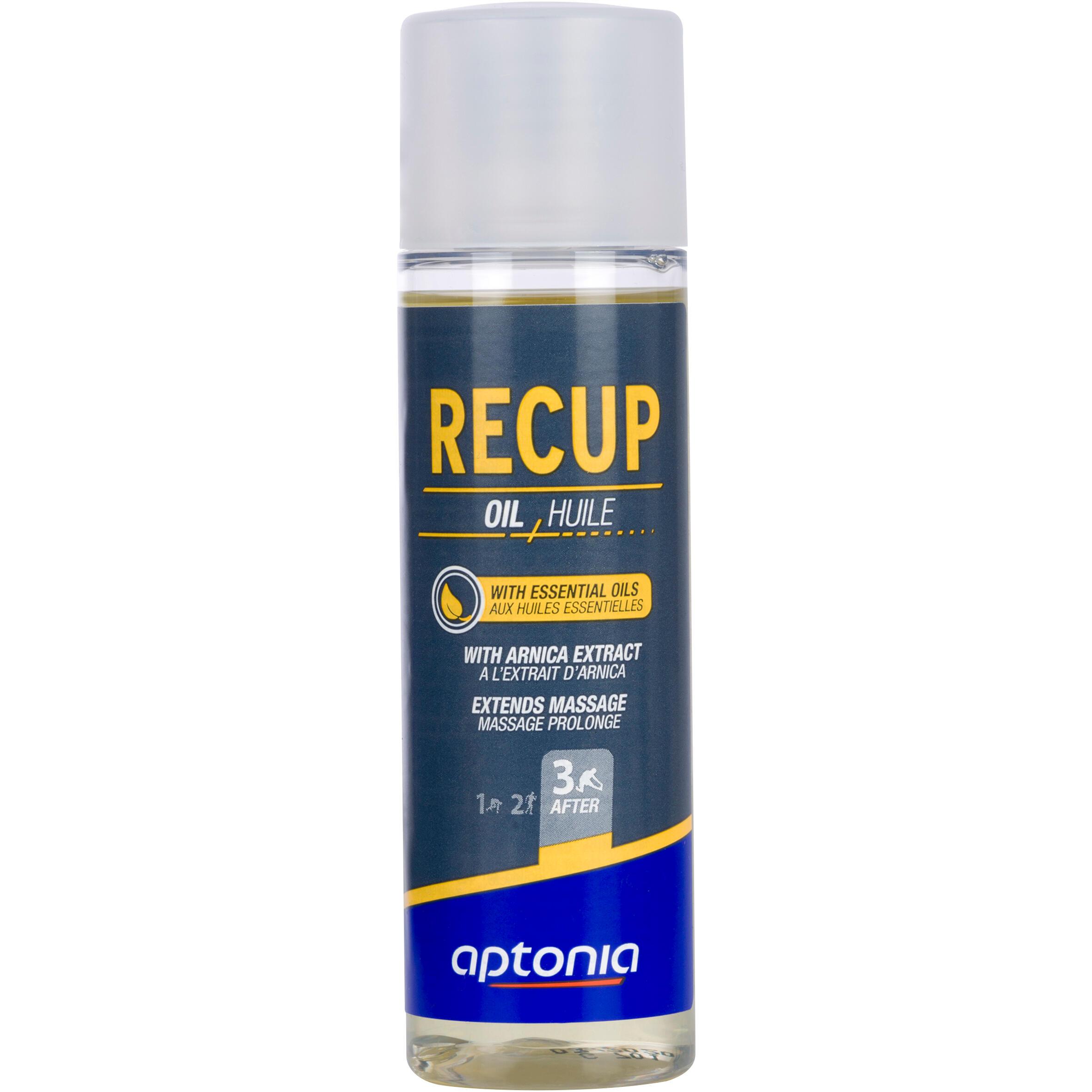 Aptonia Massageolie voor recuperatie met etherische oliën en arnica 125 ml