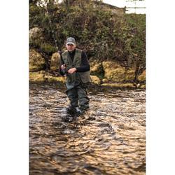 Chaleco pesca -5 caqui