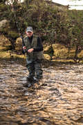 GILET Pesca - Gilet pesca-5 verde militare CAPERLAN - PESCA AI PREDATORI