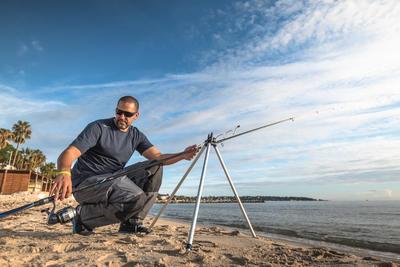 Telescopic sea-fishing tripod SW TPOD _DIESE_ GM
