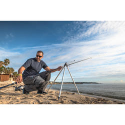 Telescopisch driepootstatief voor 4 hengels zeevissen