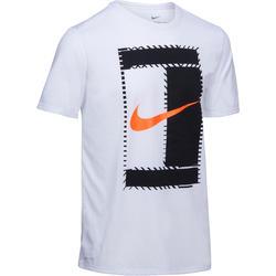 Sportshirt racketsporten Dry Tee heren wit