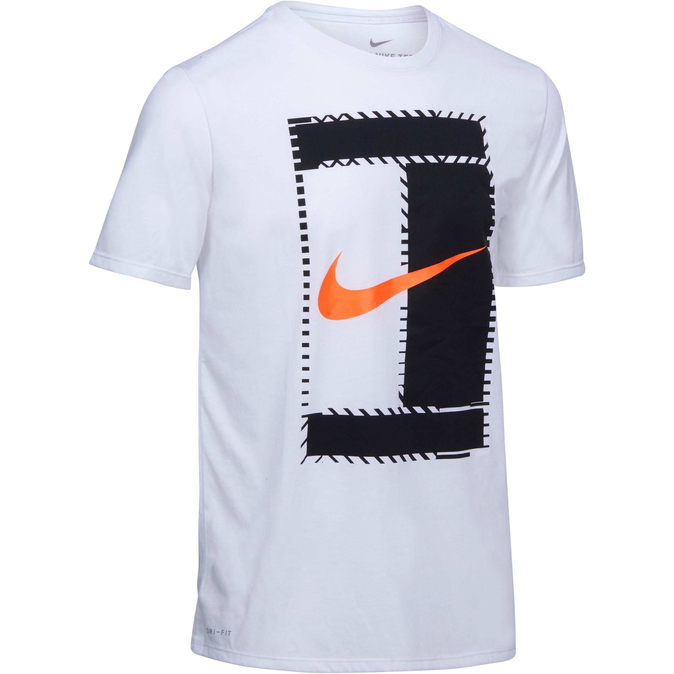tee shirt tennis nike