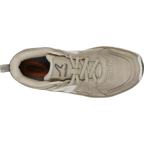 216736f9e21ff Chaussures marche sportive femme HW 540 cuir beige. Previous. Next