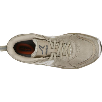 Chaussures marche sportive femme HW 540 cuir beige