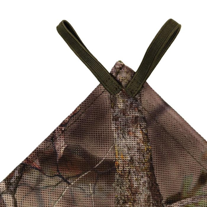 Red Caza Solognac Reversible Camuflaje Verde-Marron 1,4x2,2m