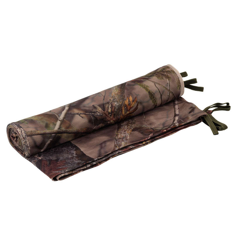 HIDES Shooting and Hunting - LIGHT CAMO NET 1.4Mx2.2M BROWN SOLOGNAC - Hunting Types