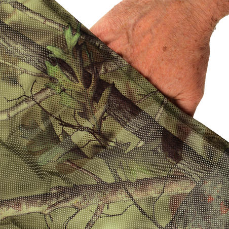 LIGHT CAMOUFLAGE HUNTING NET 1.4M x 2.2M CAMOUFLAGE GREEN