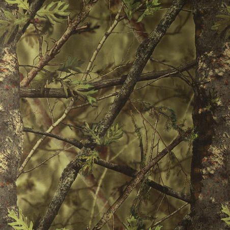 LIGHT CAMOUFLAGE HUNTING NET 1.4 M x 2.2 M - CAMOUFLAGE GREEN