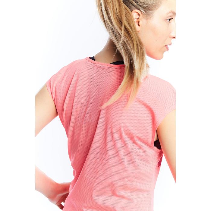 T-shirt loose fitness cardio femme avec imprimés 120 Domyos - 1197767