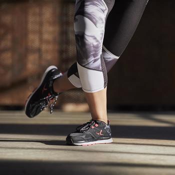 Fitnessschoenen Cardio 900 voor dames zwart en roze