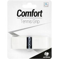 舒適網球拍握把布 - 白色