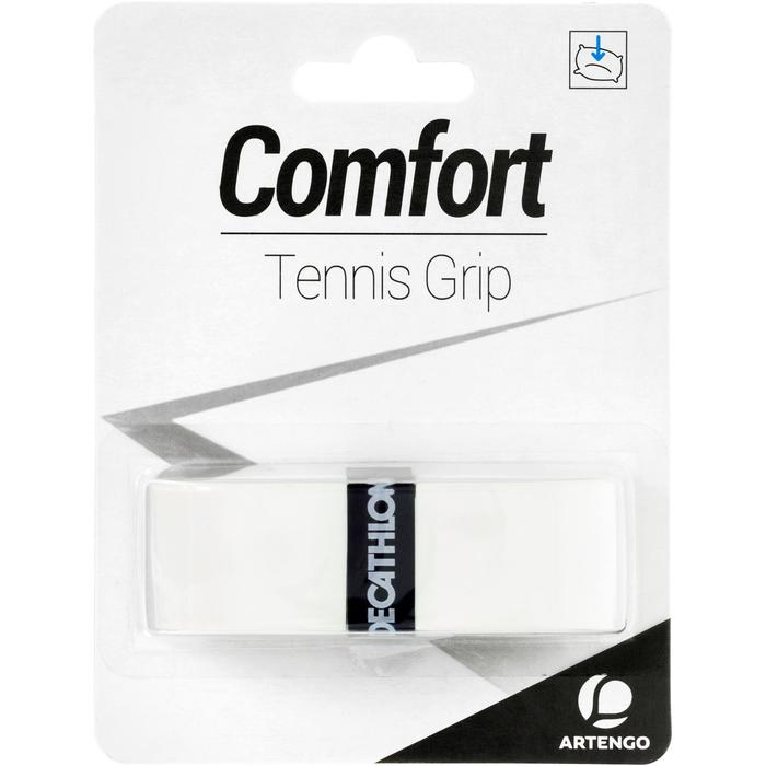 Griffband Comfort Tennisschläger Overgrip weiß