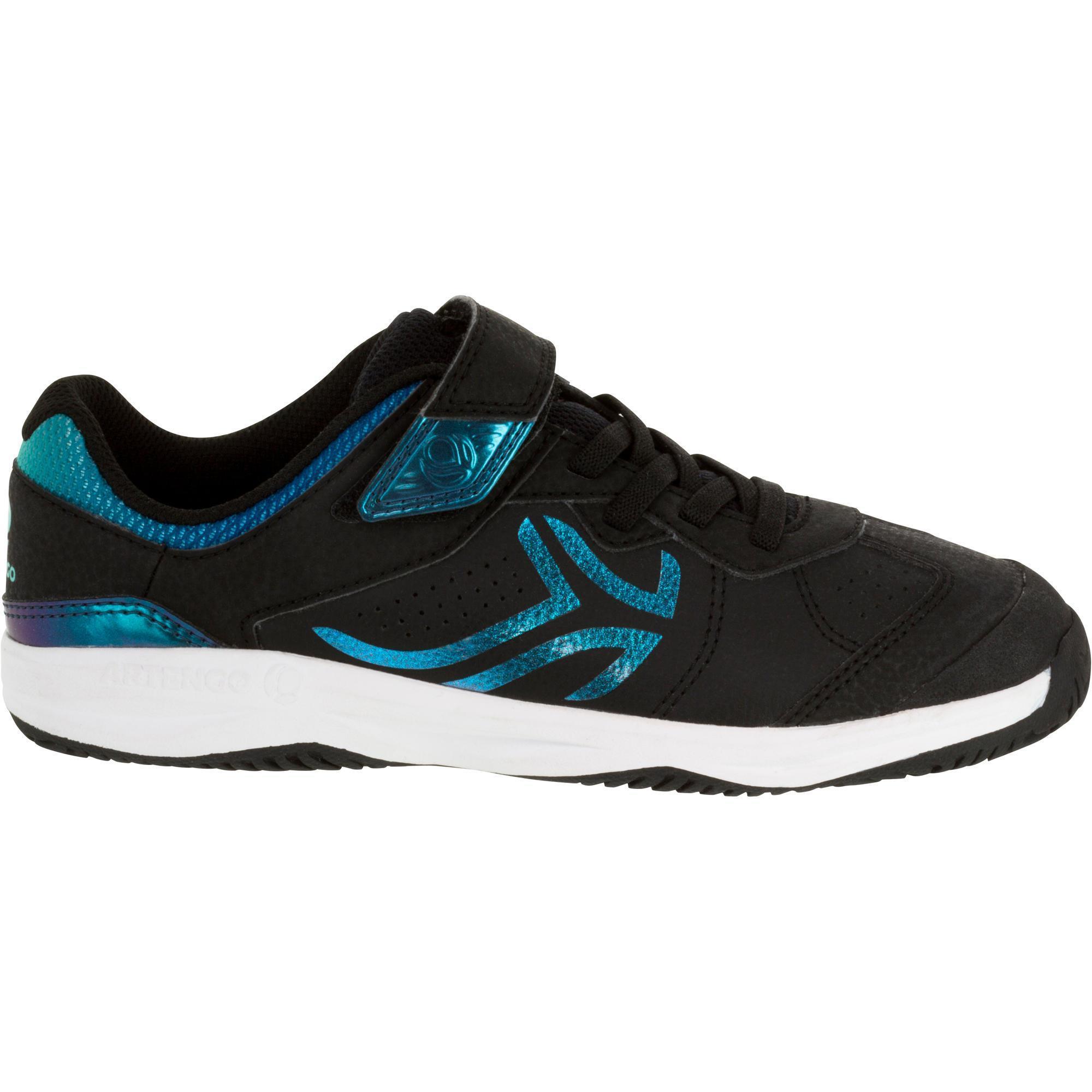 Artengo Tennisschoenen voor kinderen Artengo TS160 blauw regenboog