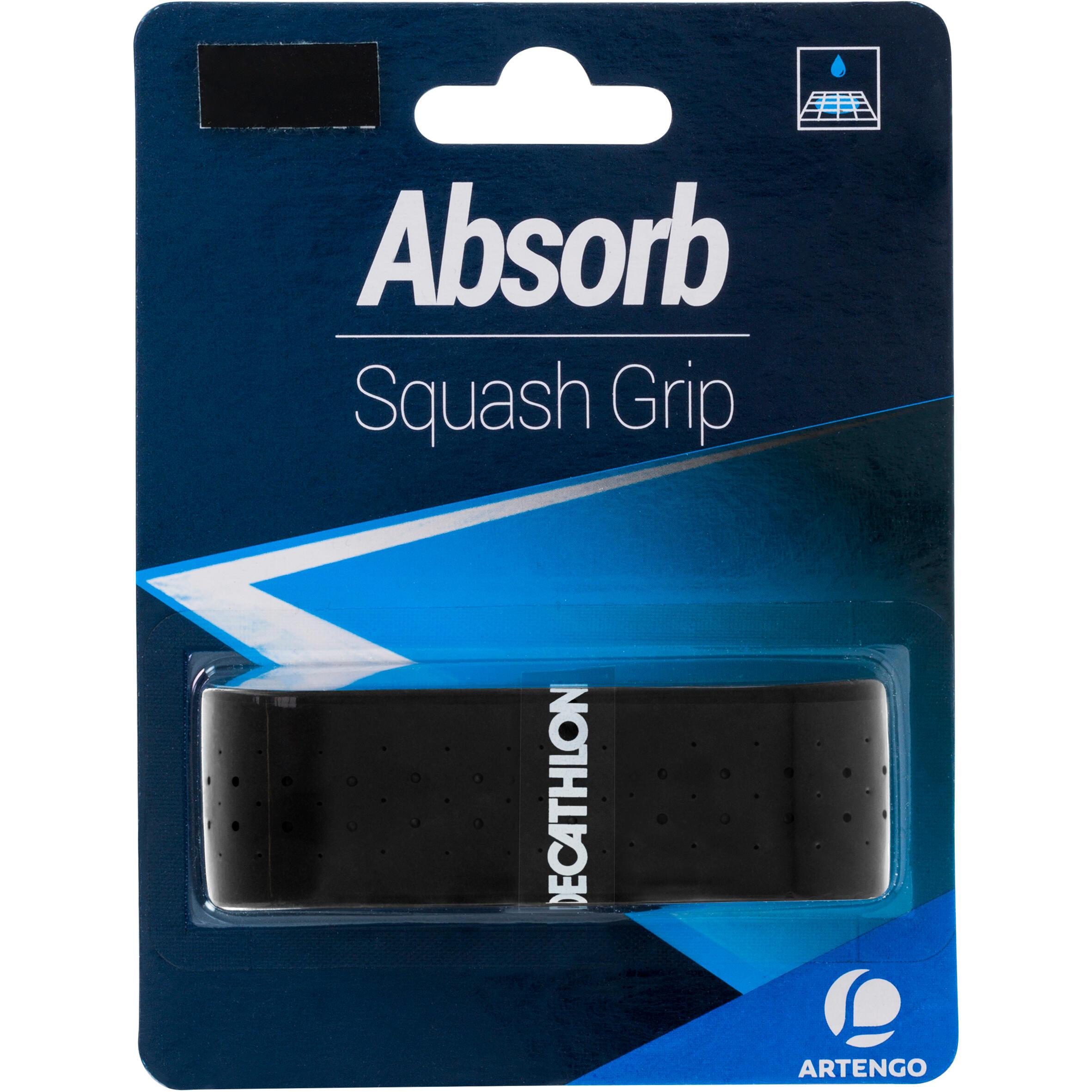 Absorb Squash Grip - Black