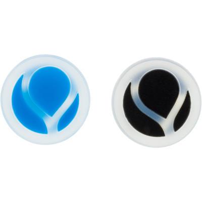 مخفض صدمات تنس دائري - شفاف أو أسود