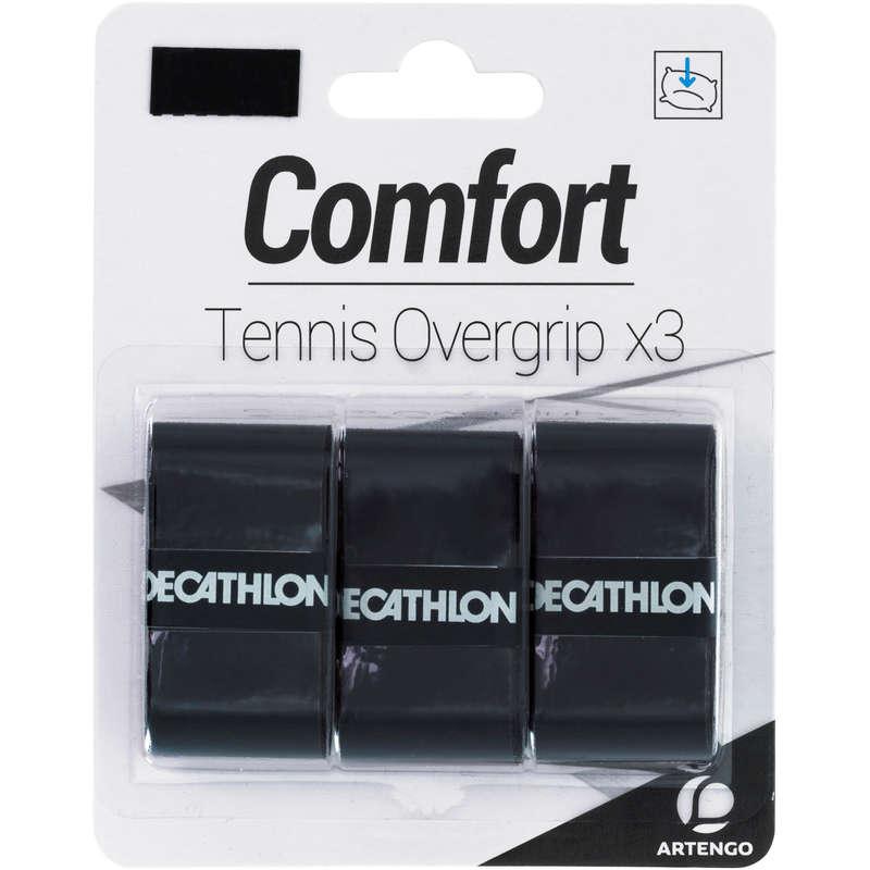 GRIPEK, KIEGÉSZÍTŐK Tenisz - Fedőgrip teniszütőhöz Confort ARTENGO - Tenisz felszerelés