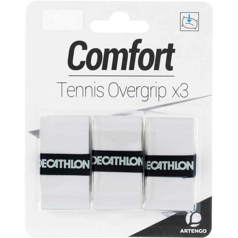 Comfort Tennis Overgrip 3-Pack - White