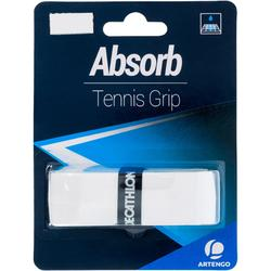 網球吸汗握把布–白色