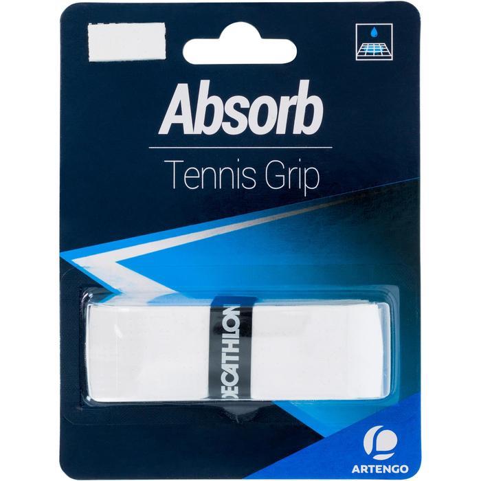 Griffband Absorb Tennis weiß