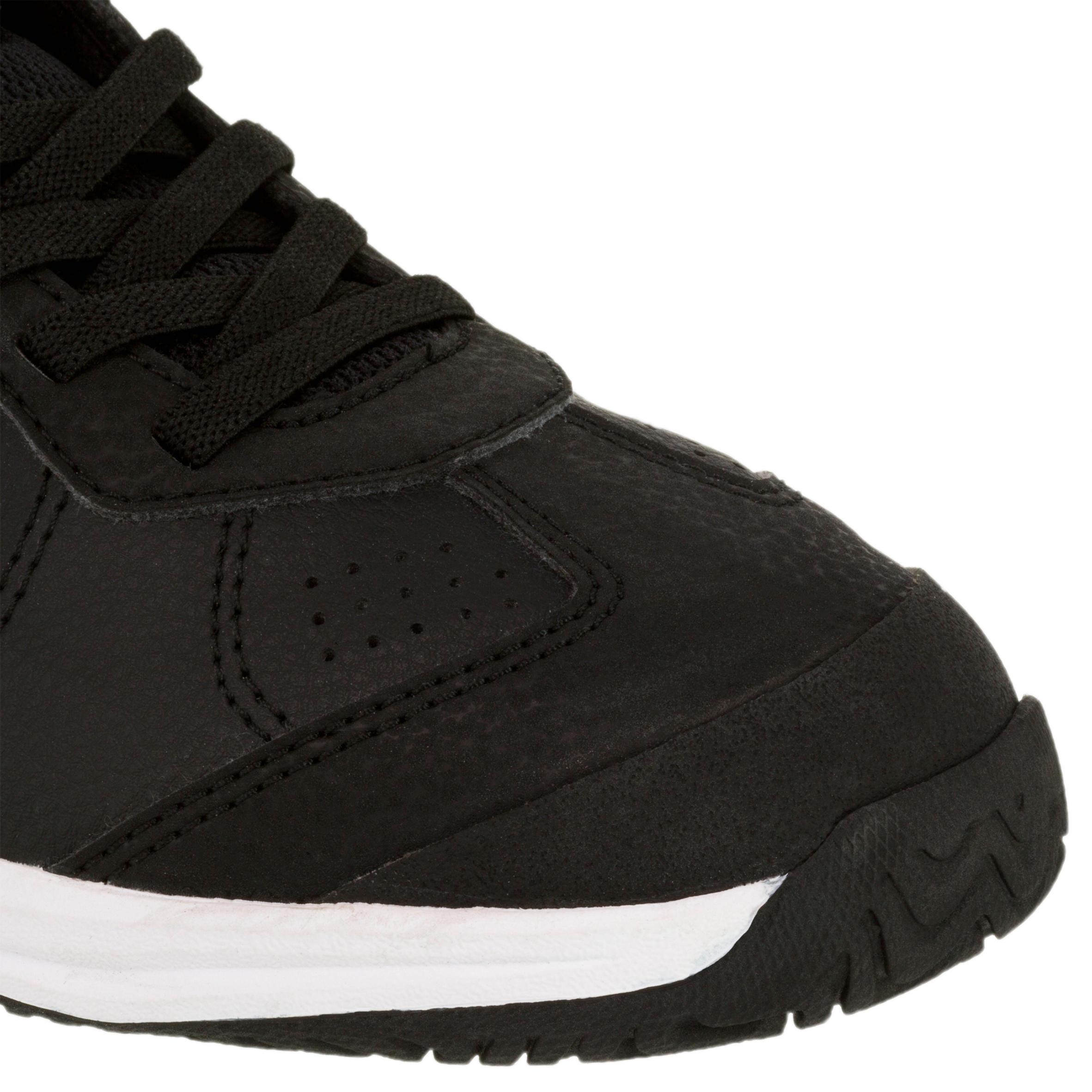 TS160 Kids Tennis Shoes - Black/Beetle Patterns