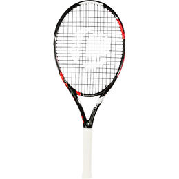 Kids Tennis Racket 26 inch TR900 - Black/Orange