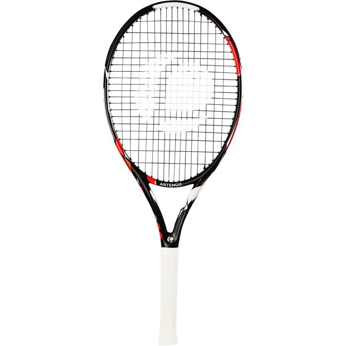 RAQUETTE DE TENNIS ENFANT TR900 26 NOIR ORANGE