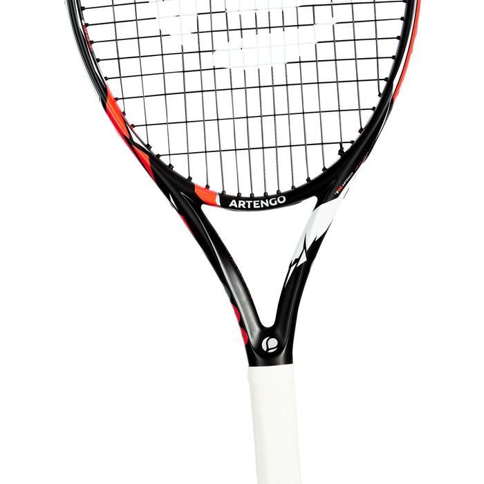Tennisracket kinderen TR 990 26 zwart/oranje