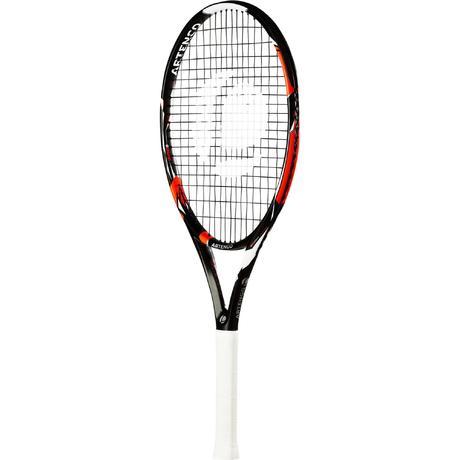 raquette de tennis enfant tr990 26 noir orange artengo. Black Bedroom Furniture Sets. Home Design Ideas
