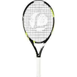 兒童款網球拍TR990 25-黑色/黃色
