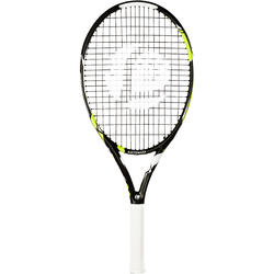 """Tennisschläger TR900 Kinder 25"""" besaitet schwarz/gelb"""