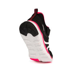Kindersneakers voor wandelen PW 540 zwart / roze