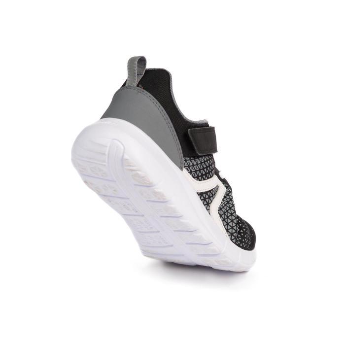 Kindersneakers voor sportief wandelen Soft 140 zwart
