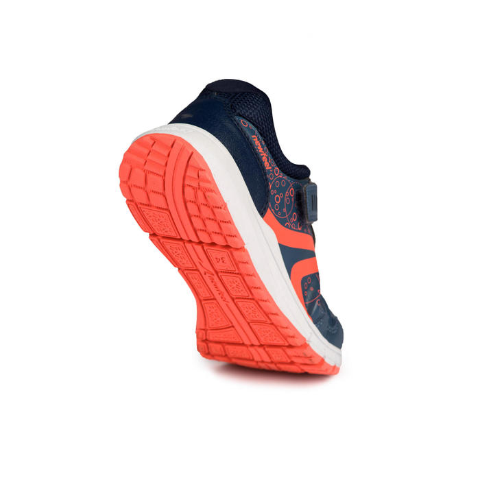 Chaussures marche sportive enfant Protect 140 marine - 1198166