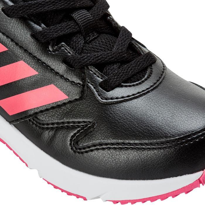 Chaussures marche sportive enfant Fastwalk2 Lacets noir / rose - 1198170