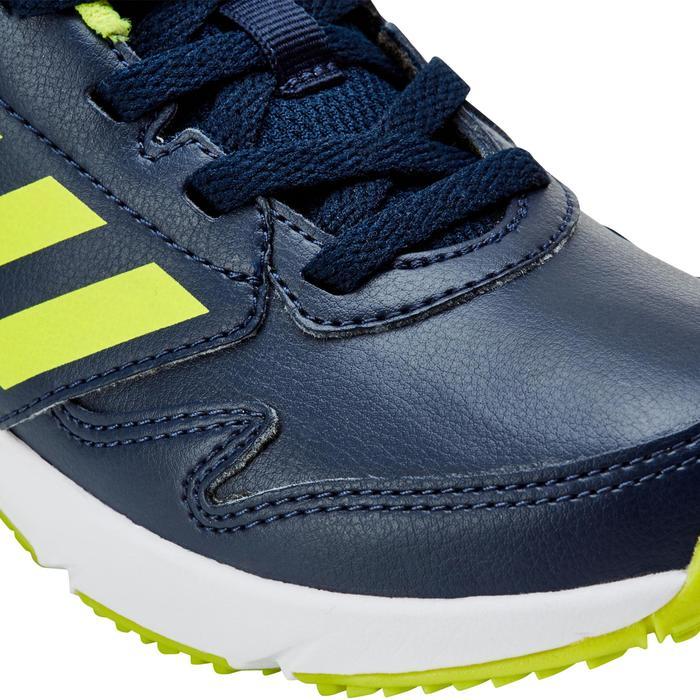Chaussures marche sportive enfant Fastwalk2 Lacets bleu / jaune