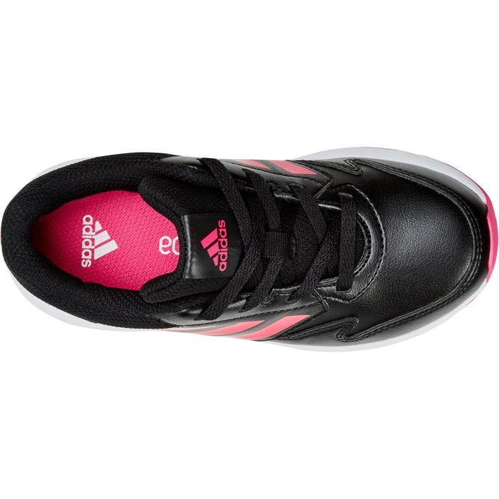 Chaussures marche sportive enfant Fastwalk2 Lacets noir / rose - 1198185
