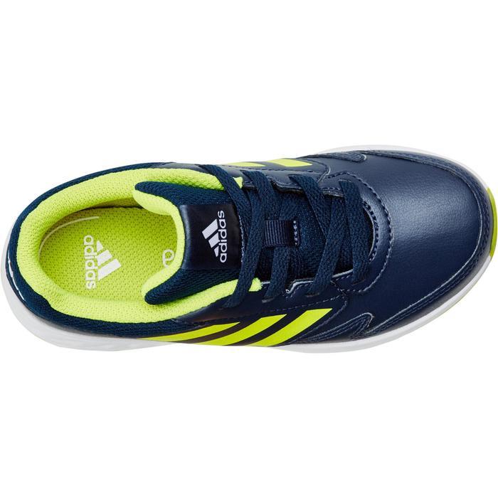 Chaussures marche sportive enfant Fastwalk2 Lacets bleu / jaune - 1198194