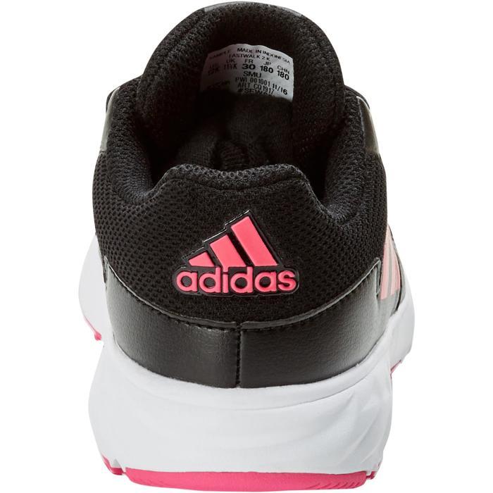 Chaussures marche sportive enfant Fastwalk2 Lacets noir / rose - 1198211