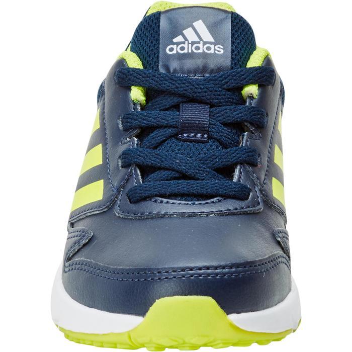 Chaussures marche sportive enfant Fastwalk2 Lacets bleu / jaune - 1198216