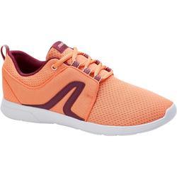 Soft 140 女性健身步行運動鞋 紫色/粉紅色