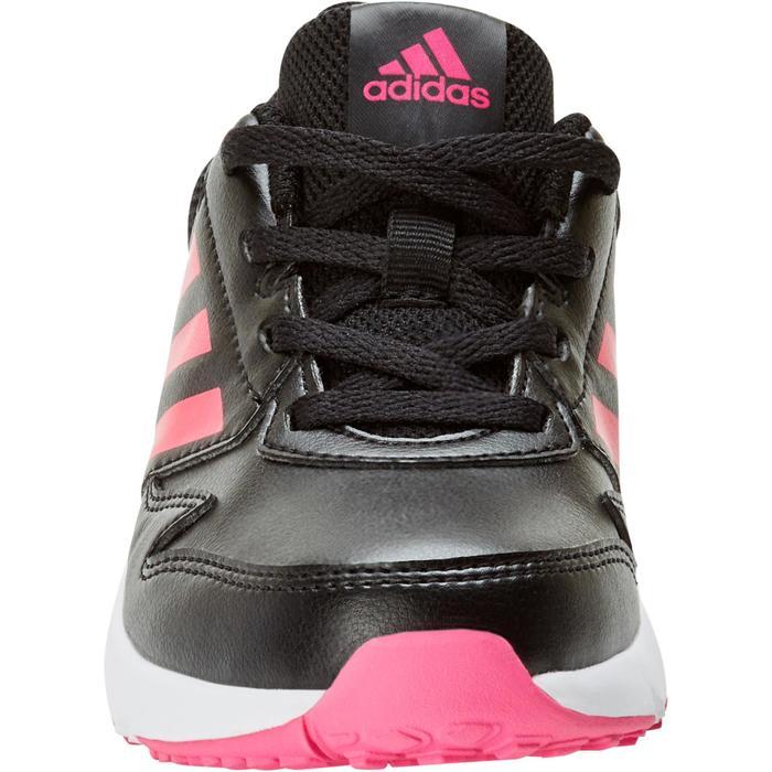 Chaussures marche sportive enfant Fastwalk2 Lacets noir / rose - 1198229