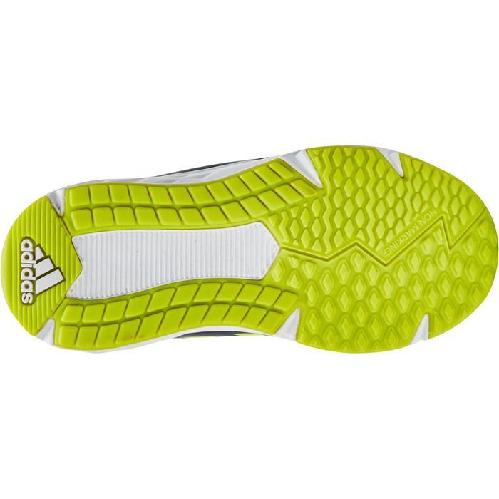 Chaussures marche sportive enfant Fastwalk2 Lacets bleu / jaune - 1198237