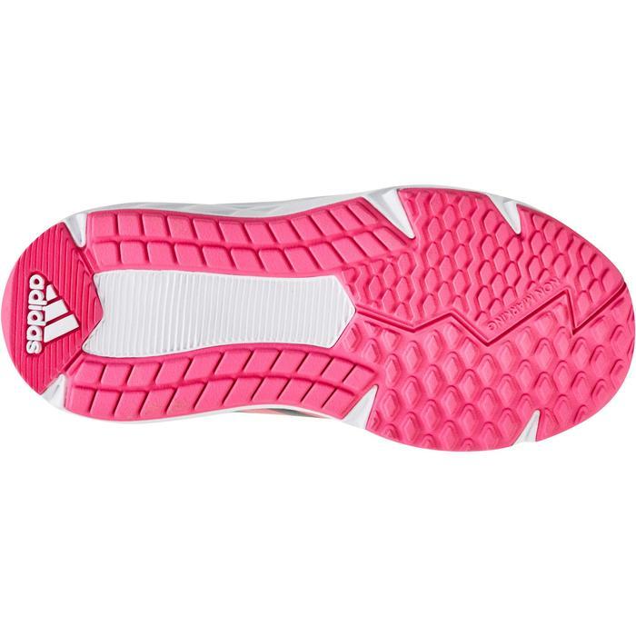 Chaussures marche sportive enfant Fastwalk2 Lacets noir / rose - 1198242